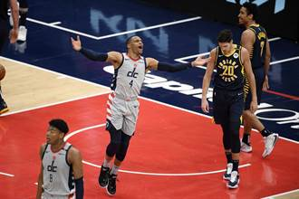 NBA》狂電溜馬27分!巫師搶到東區季後賽最終門票