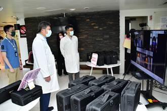 輕症、無症狀感染者照護利器 台大雲醫「遠距醫療居家照護包」投入防疫