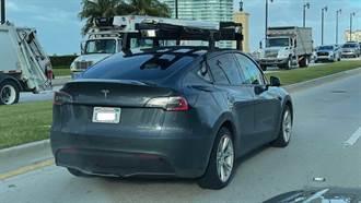 搭載 LiDAR 光學雷達的 Model Y 在路上測試,特斯拉改變心意了嗎?