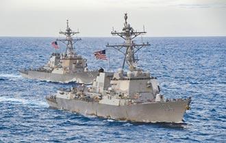 美艦穿台海後闖西沙