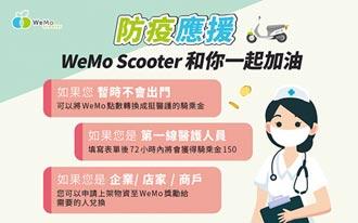 WeMo Scooter免費騎乘金挺醫護
