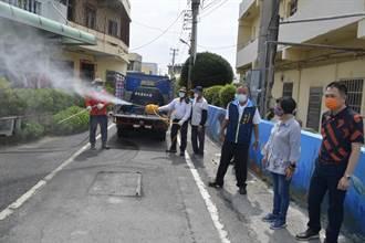 消滅病毒總動員 彰縣達聯化工廠贊助28噸消毒水