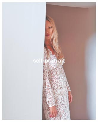 凱特摩絲蕾絲材質展現時尚生命力