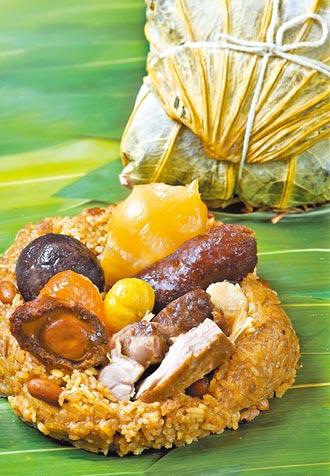 金銀蒜蠔皇土雞粽 在家防疫養生首選