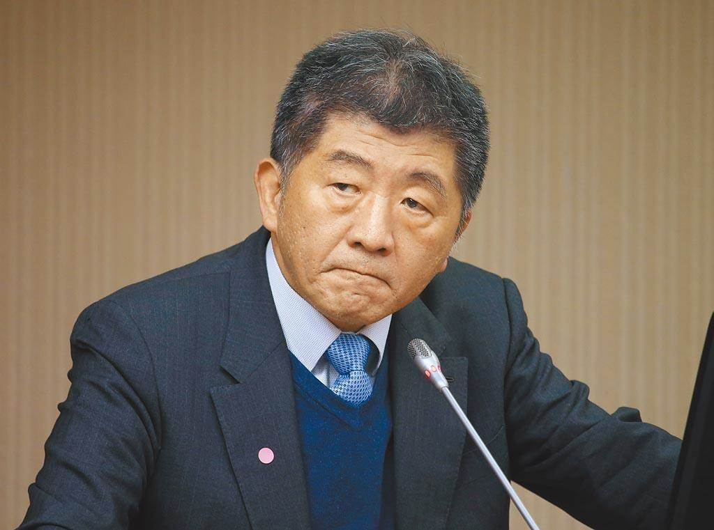 衛福部長陳時中。(本報系資料照片)