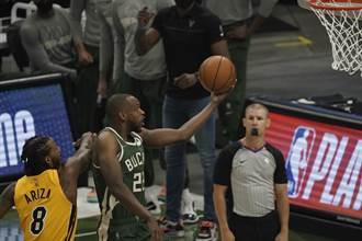 NBA》首場季後賽就絕殺!米德頓驚險幫助公鹿滅火