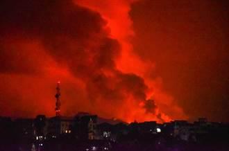 剛果東部火山噴發 引發居民恐慌逃難