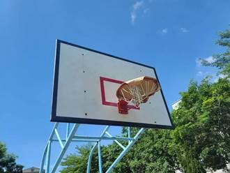 防疫封框 他手癢DIY超狂籃球場 網驚呆:給報隊嗎?