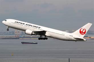 日航飛台波音客機空中失壓 緊急迫降關西機場