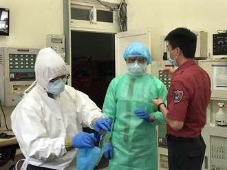 基隆老翁身體不適隱匿症狀 採檢陽性2消防員居家隔離
