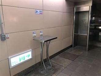 北捷充電區暫停使用 西門、龍山寺站部分出入口封閉