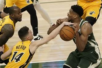 NBA》字母哥禁區外14中0平尷尬紀錄 網友:季後賽常態