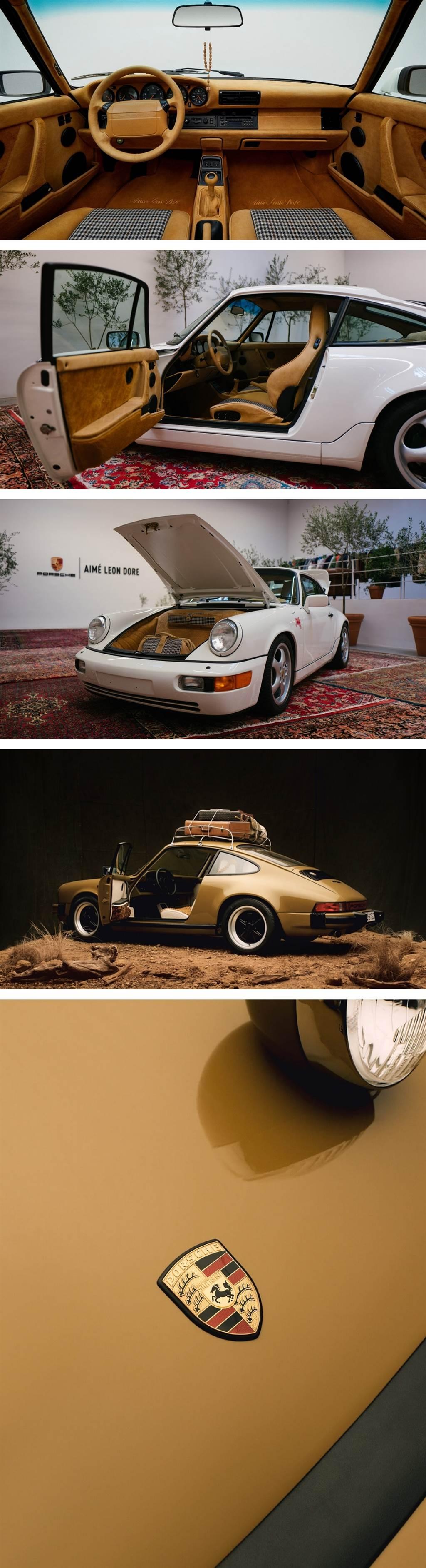 Porsche與潮流品牌Aimé Leon Dore聯手修復改造911 SC