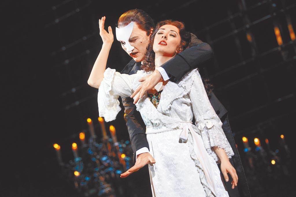 今年秋天纽约百老汇可望重新上演《歌剧魅影》。(示意图,宽宏艺术提供)(photo:ChinaTimes)