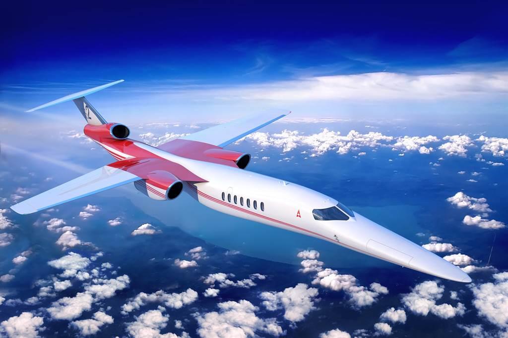 艾利恩公司所设计的AR-2静音超声速客机。图/Aerion (photo:ChinaTimes)