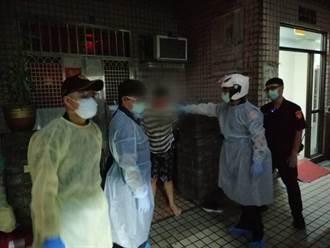 中和通緝犯返家拒捕 抓傷警又裝身體不適要送醫