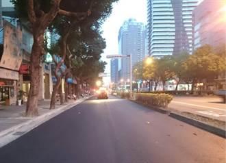 道路再燙平 中市台灣大道機慢車道將改頭換面