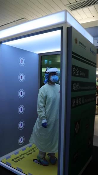 北榮獲台達捐贈紫外線抑菌艙 齊心鞏固防疫陣線