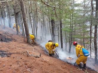 玉山森林大火第9天 森林護管員傷兵變多 還有人半個月沒見到家人
