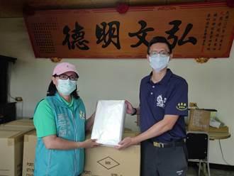 嘉義議員以亡夫名義 捐千件隔離衣給消防局