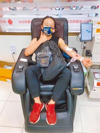 血庫告急賴銘偉驕傲捐熱血