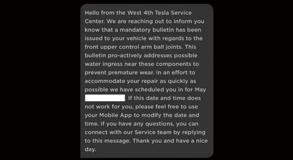 Model 3 三角架異音非個案,特斯拉主動召回車主免費維修上控制臂 (北美)