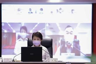 超前部署 盧秀燕主持市政會議首度全員視訊