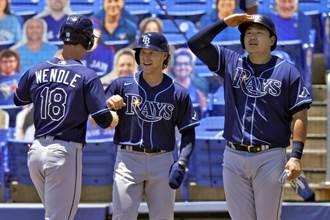 MLB》光芒射藍鳥11連勝 崔志萬享受觀眾歡呼