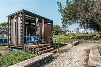 國內原物料漲價 竹東河濱公園新建公廁從5座變1座