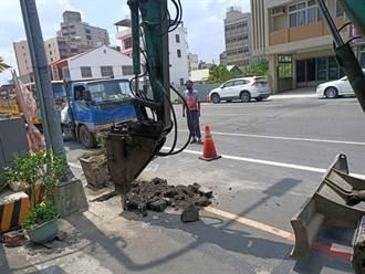 台南新營區「三路共改」工期30天 三民路、大同路及民治路今施工