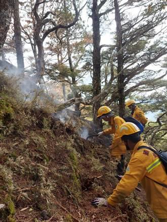 八通關杜鵑營地森林大火 推估求償金額恐怕上億