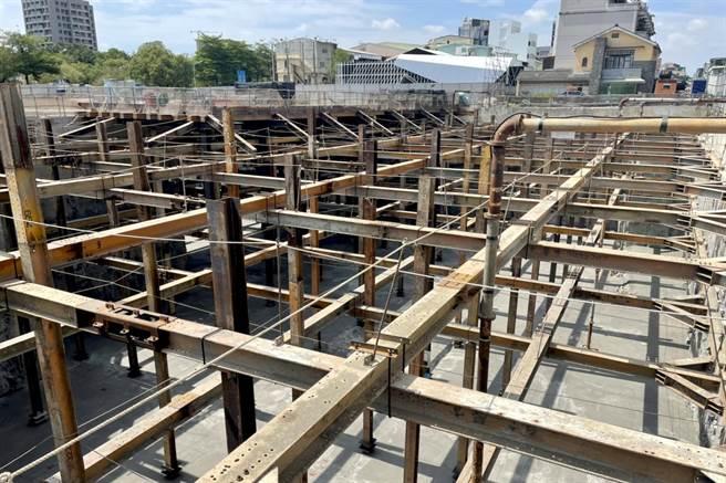 台中市已有66處工地加入提供地下水給產業界取水抗旱。(盧金足攝)