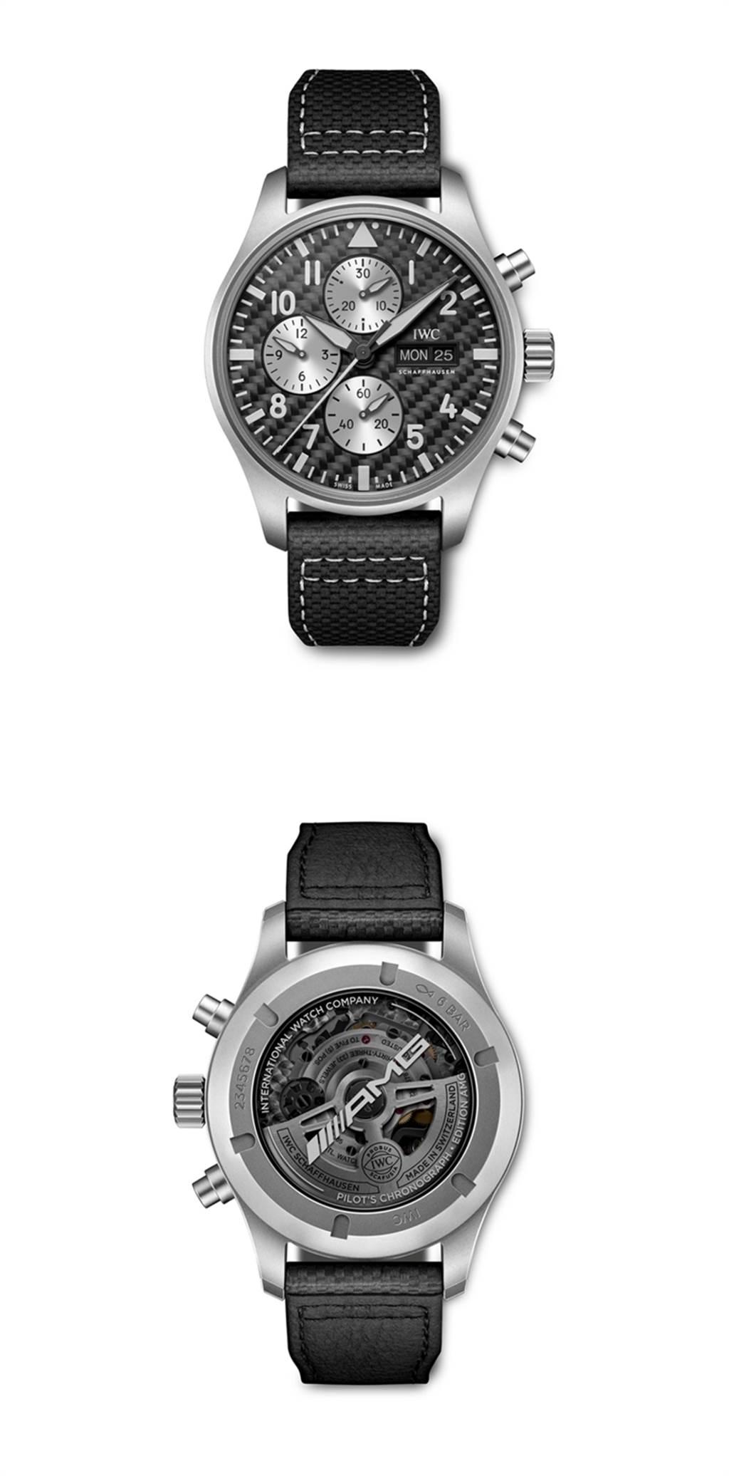 慶祝雙方長年以來的合作 IWC推出Mercedes-AMG聯名紀念腕錶