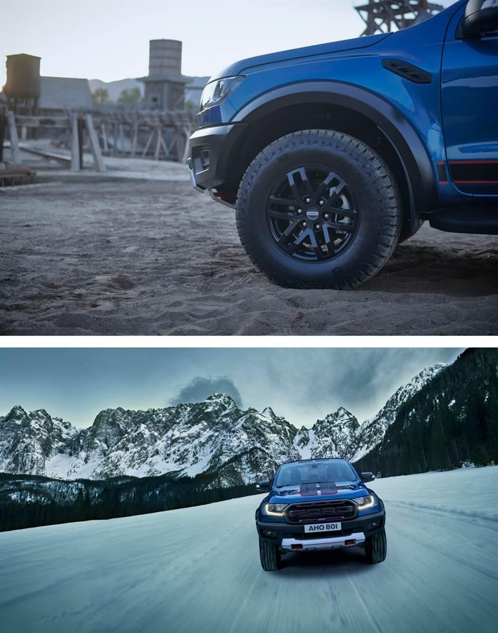 Ford推出最高性能Ranger Raptor特別版皮卡