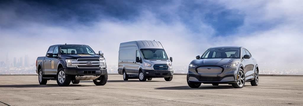 加速跟上歐洲市場腳步? Ford 加速全級距車款純電化