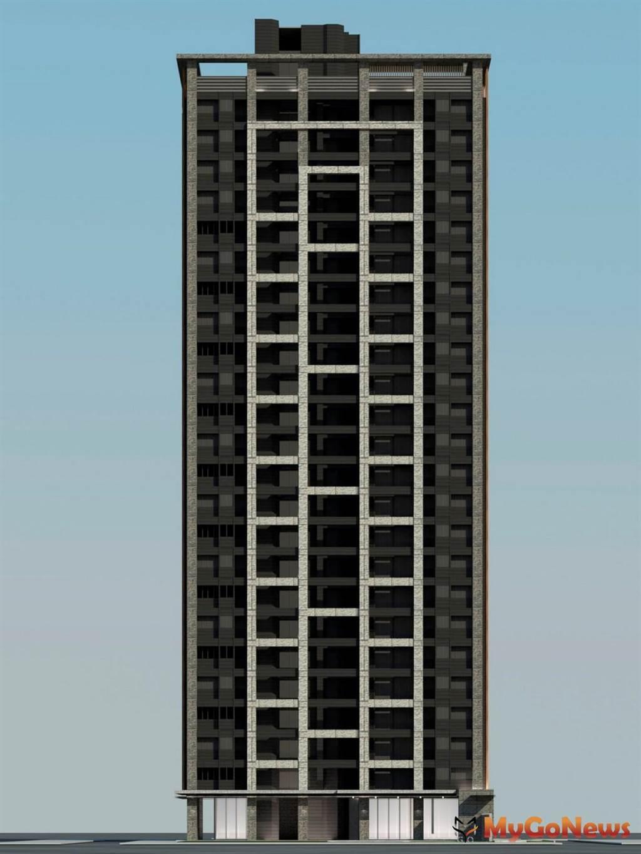 基地位於三重區泉州街及中正南路250巷所圍街廓範圍內,興建1棟地上24層、地下4層之住宅大樓(圖/新北市政府)