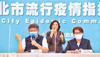 確診者改兩人一室現警訊 台北市加護病房大爆滿