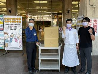 清新溫泉飯店捐贈1500個暖心餐盒 感謝一線醫護人員守護家園