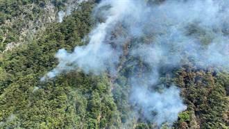 馬崙山燒8天終於滅了 5.4公頃山林盡成灰燼