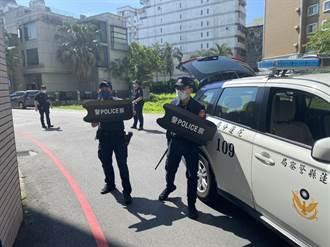 疫情當前警察奔波勞碌維護治安 花蓮警獲贈防暴臂盾及微型攝影機