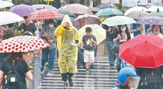 愈來愈潮濕 鄭明典圈出「好大一坨」水氣:降雨集中這地