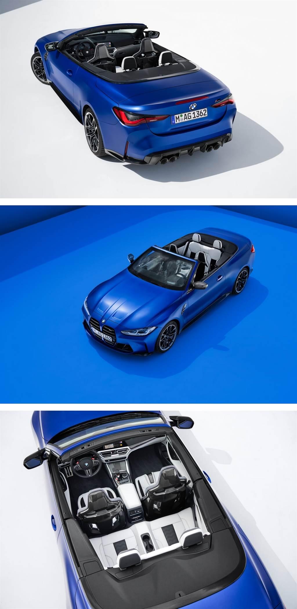 BMW M4 Competition Convertible登場!標準配置M xDrive全輪驅動系統