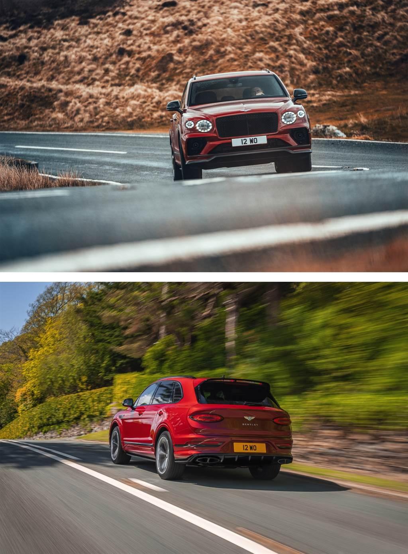 開拓運動駕控的消費市場 Bentley 推 Bentayga S 編成
