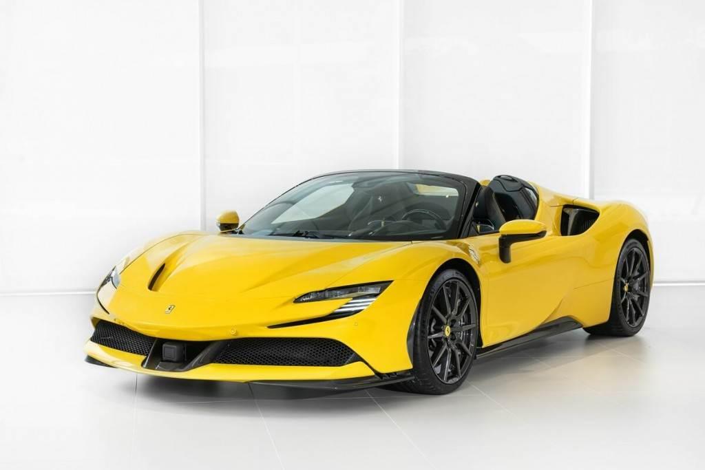 Ferrari史上性能最強悍量產敞篷跑車SF90 Spider,2625萬元起震撼登臺!