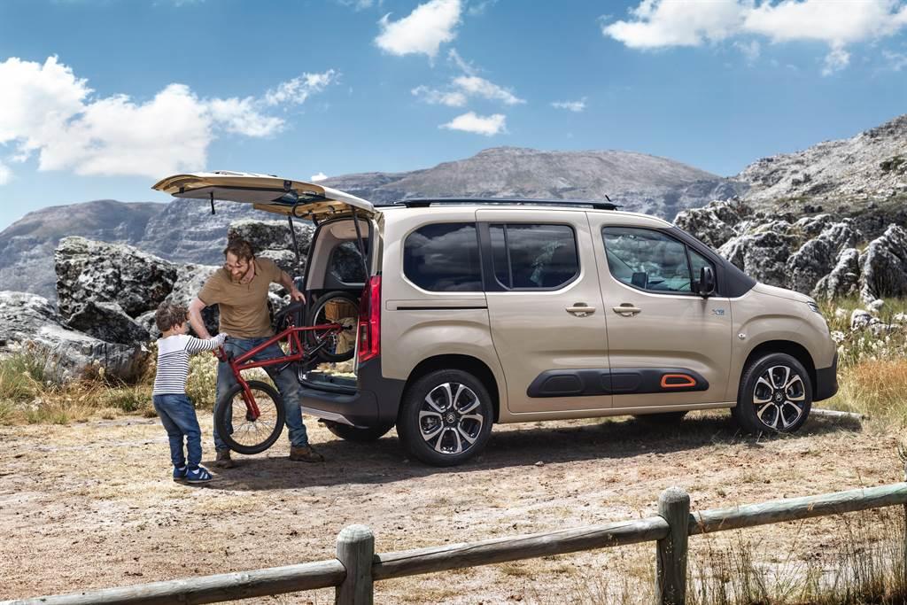 實用的機能讓Berlingo成為Citroen品牌近年銷售主力。