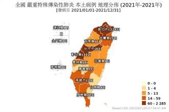 3縣市疫情警示一夜變色 全台最新確診地圖曝光