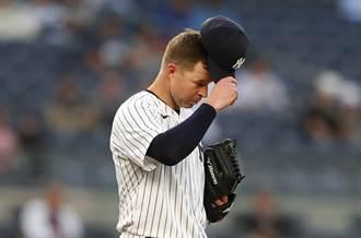 MLB》洋基大噩耗 克魯伯投出無安打就受傷將休2個月