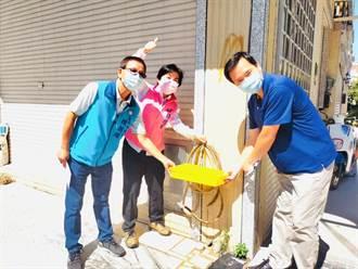 潭子這社區水井枯竭 楊瓊瓔爭取自來水完工通水
