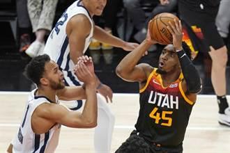 NBA》拒絕再次上演老八傳奇 爵士輕取灰熊扳平系列賽