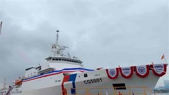 海巡署太平島1官兵初篩時陰時陽 嘉義艦出航載回